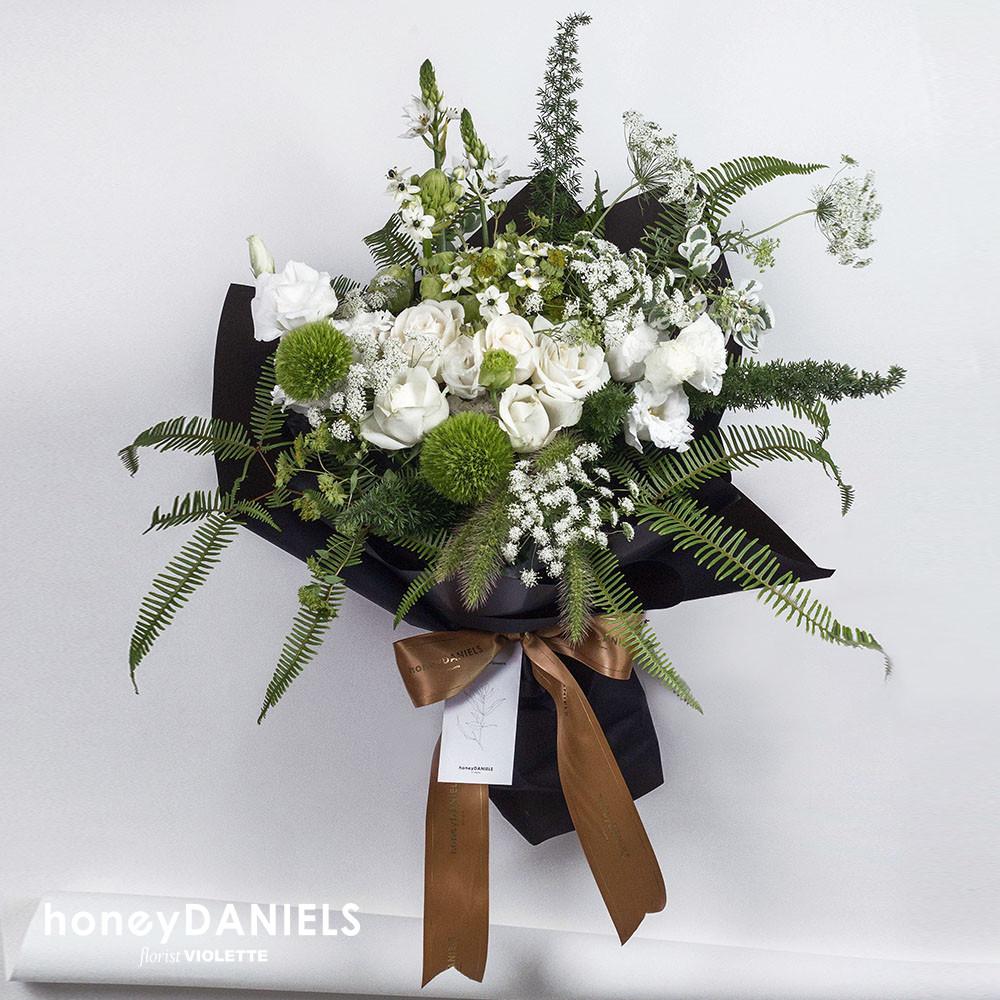 自然風格客製花束
