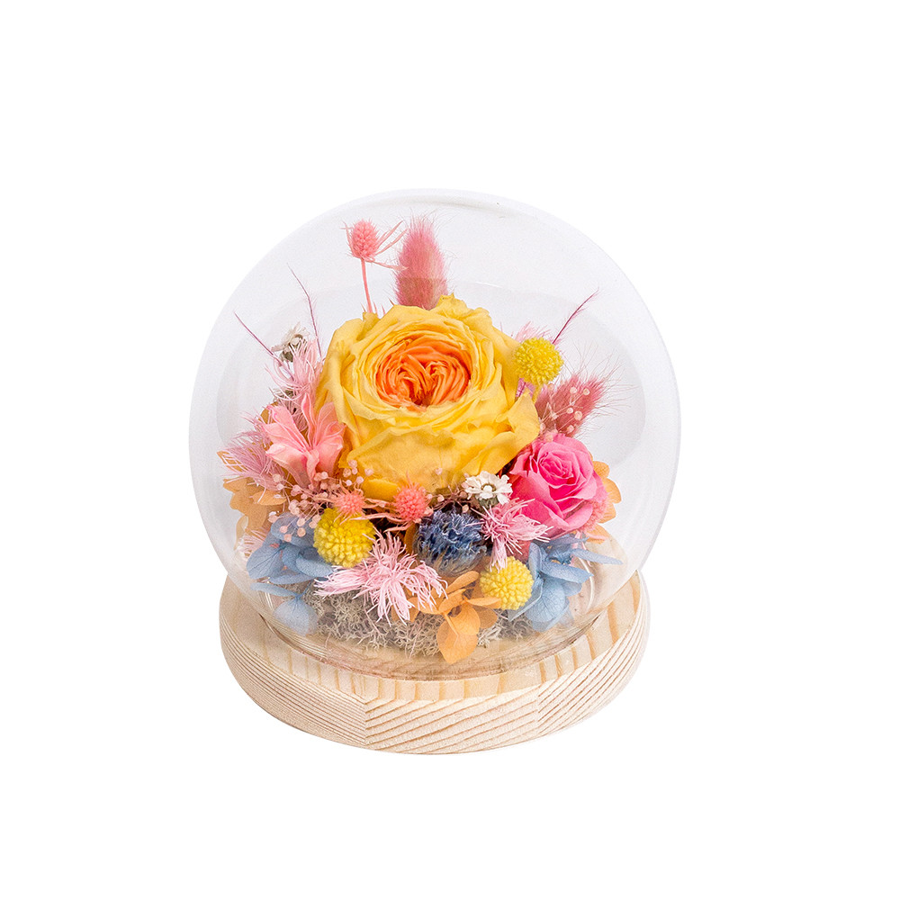水晶球鐘罩-糖果